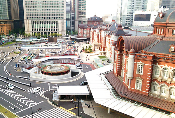 東京駅丸の内駅舎(赤レンガ)復原工事