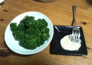 ブロッコリーを食す!