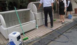 【社内美化運動】ゴミ置き場の清掃